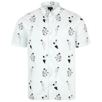 Edwin Nimes Short Sleeve Shirt - White