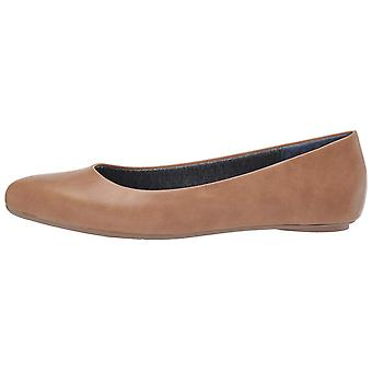 Dr. Scholl's Womens Really Leather Pointed Toe Espadrille Flats