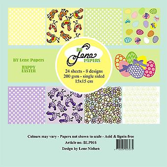 By Lene Happy Easter 6x6 Inch Paper Pack