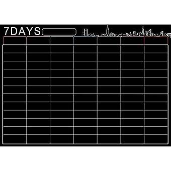 Large Magnetic White Board Weekly Planner For Kitchen Refrigerator