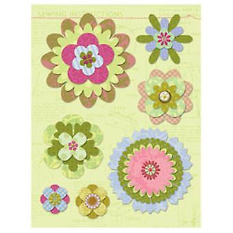 K & Co - Brenda Walton Ornament Paper Flower Grand Adhesion