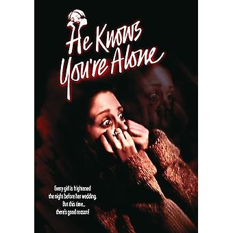 He Knows You êtes Alone (1980) [DVD] USA import