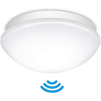 LED Deckenleuchte mit Bewegungsmelder Einstellbar, Wokex E27 LED Deckenleuchte Lampenschirm mit
