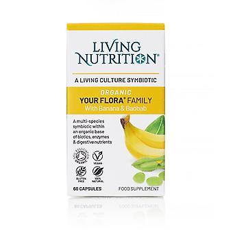 Living Nutrition Your Flora Family Caps 60 (LN2008)