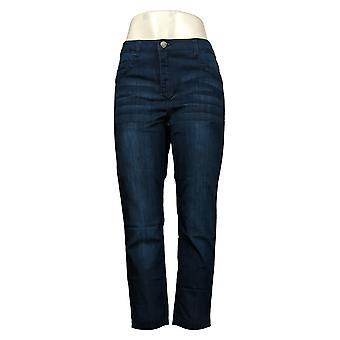 Kobiety z control shapewear Petite Renee's Odwracalne Dżinsy Niebieski A371684