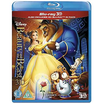 Beauty And The Beast 3D en 2D Blu-ray