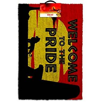 The Lion King - Welcome To The Pride Door Mat