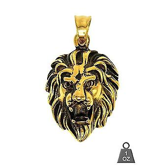 Stainess Steel Lion Pendentif