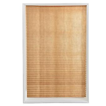 Self-adhesive Pleated Blinds Blinds Curtains Living Room Half Blackout Window