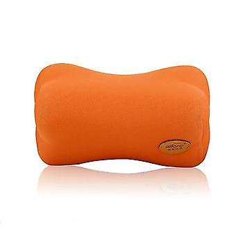 2 Stk orange bilen leverer hukommelse bomuld bil nakkestøtte hals vagt puder om bord køretøj hovedet på livmoderhalskræft pude mat fa0953