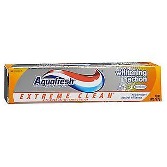 Aquafresh Aquafresh المتطرفة النظيفة تبييض العمل لصق الأسنان، 5.6 أوقية