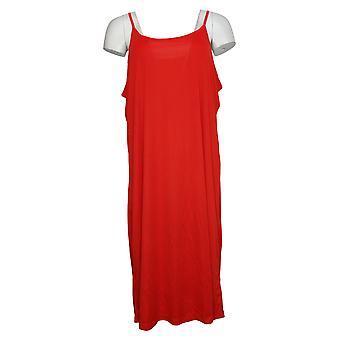 Du Jour Plus Dress Button Front Shirt Midi Tie Detail Red A351815