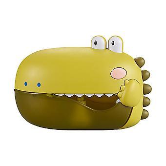 自動バブルマシン漫画恐竜の形は子供の遊び物を鳴らす