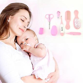 8 Pcs Newborn Baby Health Safety Scissors Medicine Feeder Grooming Kit Set