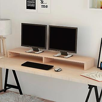 chipboard de armário de TV vidaXL 118 x 23,5 x 9 cm Bege