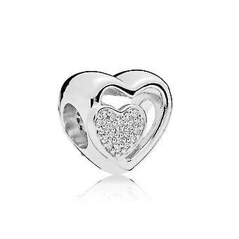 Uusi alkuperäinen 925 hopea rannekorut tarvikkeet charmi metri pandora charms hopea 925 läjät rannekoru naisille diy koru lahja