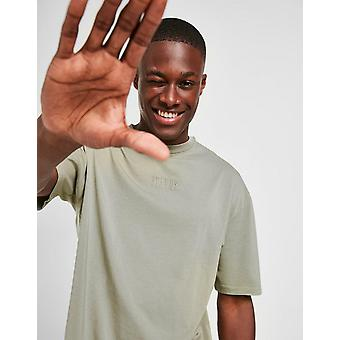 New STATUS Men's Shade Short Sleeve T-Shirt from JD Outlet Green