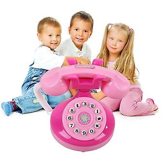 Simulated Phone Childern Lighting Phone For Pretend Play Toy.