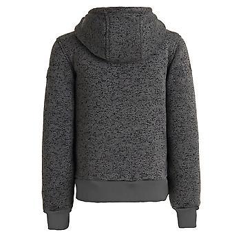 Regatta Childrens Boys Adeon Knit Effect Fleece Jacket