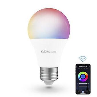 Difeisi dfs-ac-0001 e26 9w wifi a19 rgb+cct smart bulb 810lm ac100-130v works with alexa and google assistant