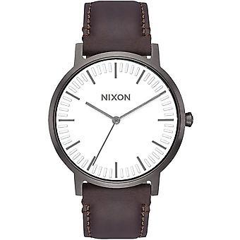 Reloj Nixon Porter White Dial para hombre - A1058-2368