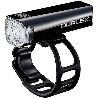 CatEye Duplex Fram- och bakhjälm monterad cykellampa – SL-LD400