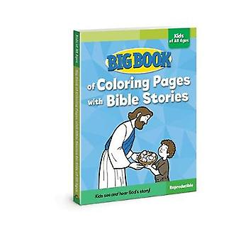 Big Book of Coloring Pages with Bible Stories for Kids of All Ages