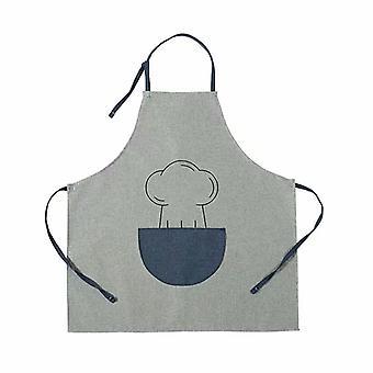 Anti-faulting și anti-ulei de gatit șorț de gatit interne șorț de gătit șorț coreean stil coreean stil fără mâneci reglabile de lucru șorț de lucru salopete de lucru (portocaliu)
