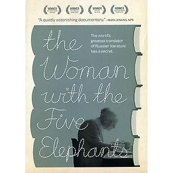 The Woman with the Five Elephants [DVD] USA import