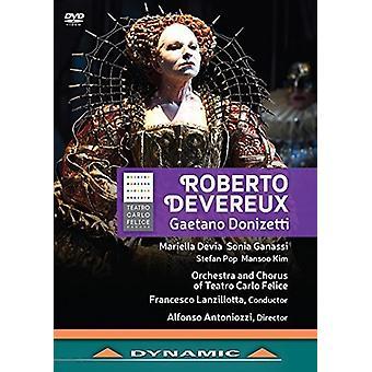 Donizetti / Devia / Lanzillotta - Gaetano Donizetti: Roberto Deverux [DVD] USA import