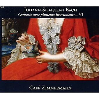 J.S. Bach - Bach: Concerts Avec Plusieurs Instruments, Vol. 6 [CD] USA import