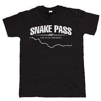 Snake Pass Biker T-Shirt - Moto Superbike - Cadeau pour papa lui