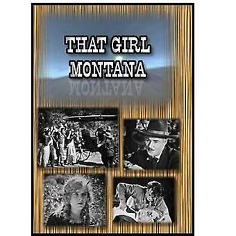 Girl Montana 1921 [DVD] USA import