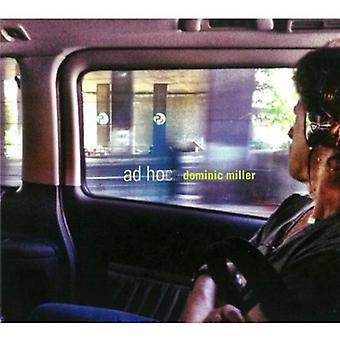 Dominic Miller - AD Hoc [CD] USA import