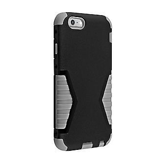 Verizon chock absorberande Rugged Case för iPhone 6 Plus / 6s Plus -svart/grå