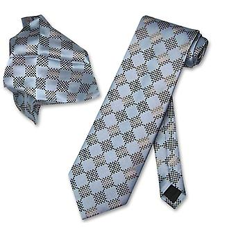 Antonio Ricci NeckTie Handkerchief Design Mens Neck Tie Set