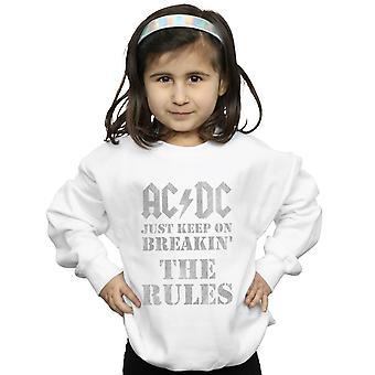 AC/DC tytöt vain pitää Breaking säännöt College pusero
