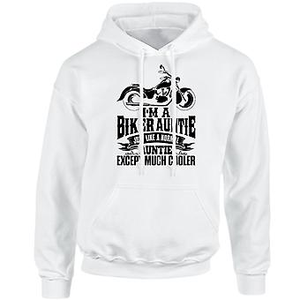 I'm a Biker Auntie Except Much Cooler Unisex Hoodie 10 Colours (S-5XL) by swagwear