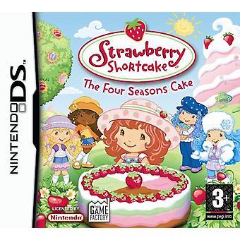 Strawberry Shortcake The Four Seasons Cake (Nintendo DS) - New