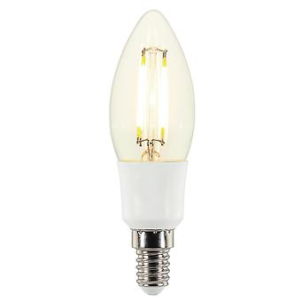 LED lamp 5 Watt E14 Candelabra Filament type dimmable warm white