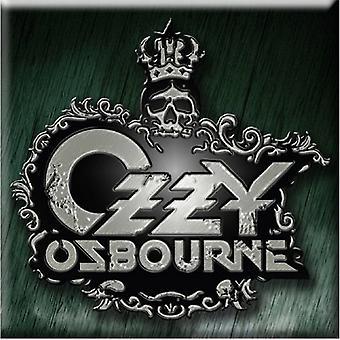 Ozzy Osbourne Kühlschrank Magnet Crest Logo neue offizielle 76 x 76 mm