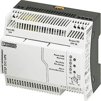 فينيكس الاتصال STEP-UPS/24DC/24DC/3 السكك الحديدية جبل UPS (DIN)