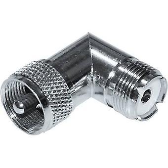 BKL Electronic 0406039 HF adapter UHF plug - UHF socket BKL Electronic