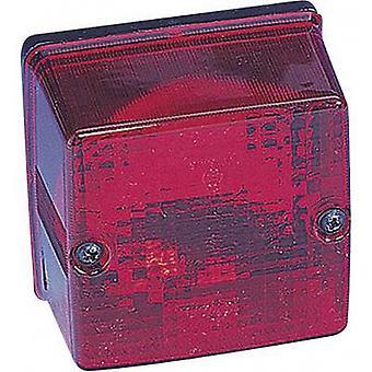 SecoRüt Rear fog lamp Rear fog lamp rear 12 V Red