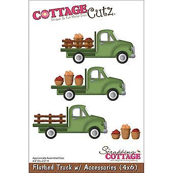 Cottagecutz dies-flatbed truck W/accessoires 4.9