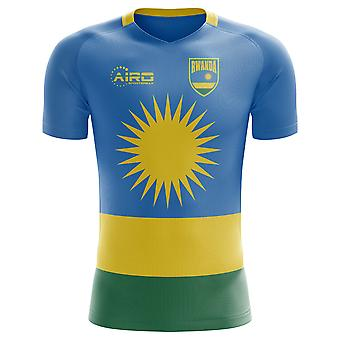 2018-2019 Rwanda Home Concept voetbalshirt