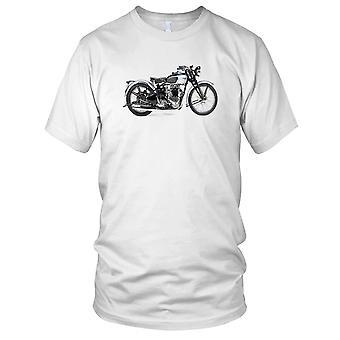 Triumf Tiger 1939 klassiske motorsykkel Biker Kids T skjorte