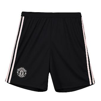 2018-2019 Man Utd Adidas away pantaloni scurți (copii)