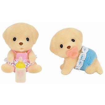 Produkty Sylvanian Families Labrador bliźnięta żółty