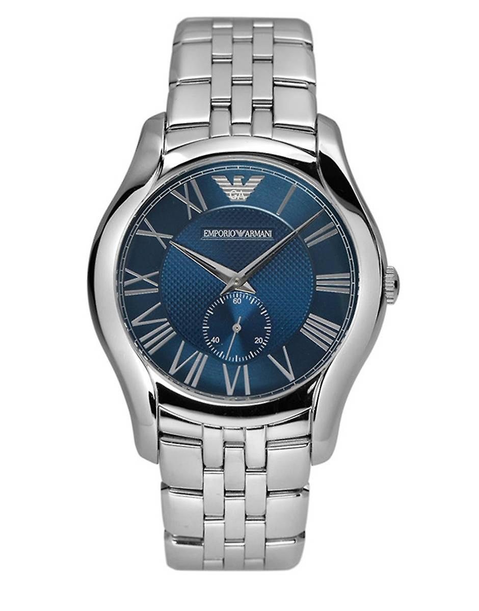 Emporio Armani Mens' Watch - AR1789 - blauw/staal